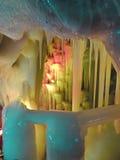 Eis-Höhlen Stockbild