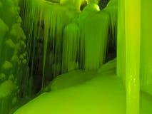 Eis-Höhlen Stockfotos