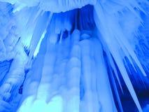 Eis-Höhlen Lizenzfreies Stockfoto