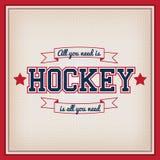Eis-Hockey-Ausweis Stockfotos
