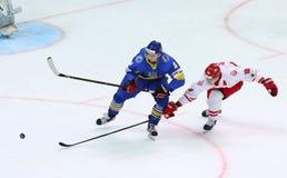 Eis-Hockey-Weltmeisterschaft 2017 Div. 1 in Kiew, Ukraine Stockfoto