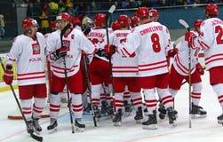 Eis-Hockey-Weltmeisterschaft 2017 Div. 1 in Kiew, Ukraine Stockfotos