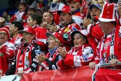 Eis-Hockey-Weltmeisterschaft 2017 Div. 1 in Kyiv, Ukraine Stockfotos