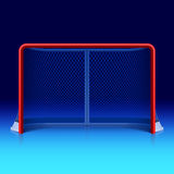 Eis-Hockeynetz lizenzfreie abbildung