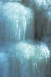 Eis-Kaskaden-Hintergrund Stockfotografie