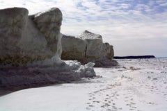 Eis-Klippe Stockbild