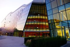 EIS-Kongresszentrum in Krakau lizenzfreies stockbild