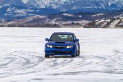 Eis-Laufen Stockfotografie