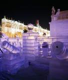 Eis-Palast Stockfotografie
