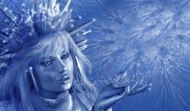 Eis-Prinzessin stockbild