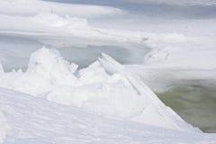 Eis Scape Stockfotografie