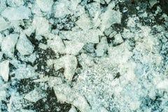 Eis schneidet Hintergrundbeschaffenheit Lizenzfreie Stockfotografie