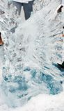 Eis-Skulptur Lizenzfreie Stockfotografie