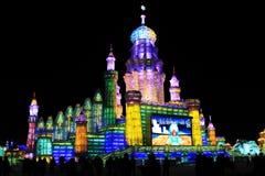 Eis-Skulptur im Harbin Stockfoto