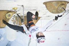 Eis-steigende Weltmeisterschaft 2011 Stockfotografie