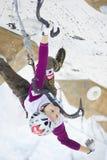 Eis-steigende Weltmeisterschaft 2011 Lizenzfreies Stockfoto