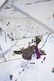 Eis-steigende Weltmeisterschaft 2011 Lizenzfreie Stockfotos