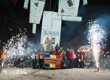 Eis-steigende Weltmeisterschaft 2011 Lizenzfreie Stockbilder
