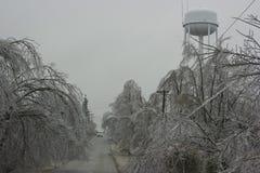 Eis-Sturm stockfotografie