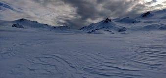Eis- und Schneewüste in Tirol lizenzfreie stockfotografie