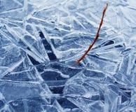 Eis und seine Reflexion Lizenzfreie Stockbilder