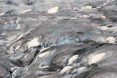 Eis von einem alten Gletscher Stockbild