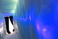 Eis-Vorhang Stockbild