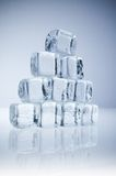 Eis-Würfel Stockbild