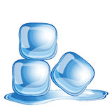 Eis-Würfel Stock Abbildung