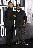 Eis-Würfel und O'Shea Jackson Jr Lizenzfreies Stockbild