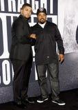 Eis-Würfel und O'Shea Jackson Jr Lizenzfreies Stockfoto