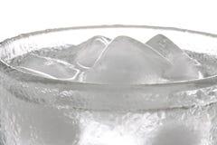 Eis-Wasser Stockbild