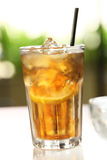 Eis-Zitrone-Tee Stockfoto