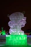 Eisabbildung eines fantastischen Bärenjungen Lizenzfreie Stockfotografie