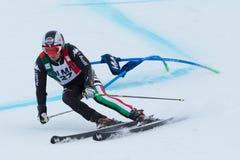 EISATH Florian (ITA). Alta Badia, ITALY 22 December 2013. EISATH Florian (ITA) competing in the Audi FIS Alpine Skiing World Cup MEN'S GIANT SLALOM Royalty Free Stock Photos