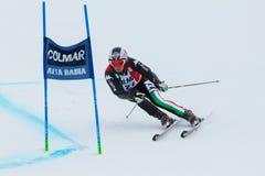 EISATH Florian (ITA). Alta Badia, ITALY 22 December 2013. EISATH Florian (ITA) competing in the Audi FIS Alpine Skiing World Cup MEN'S GIANT SLALOM Stock Photography