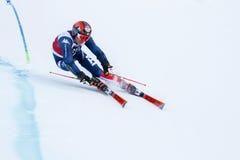 EISATH Florian nel gigante di Men's della tazza di Audi Fis Alpine Skiing World Fotografia Stock