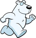 Eisbär-Betrieb Lizenzfreie Stockfotos
