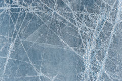Eisbahn des Eises Stockfoto