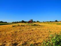 Eisbahnen für die Landwirtschaft Lizenzfreies Stockfoto