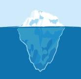 Eisberg lizenzfreie abbildung