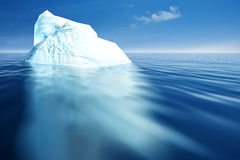 Eisberg. Stockfotografie
