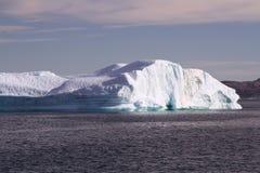 Eisberg Grönland Stockbild