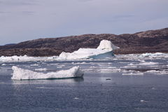 Eisberg Grönland Stockfotografie