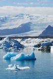 Eisberg in Island Lizenzfreie Stockfotos