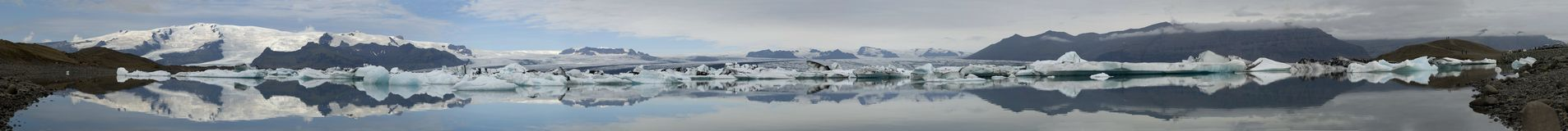 Eisberg in Island lizenzfreies stockfoto