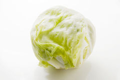 Eisberg-Kopfsalat Lizenzfreies Stockbild