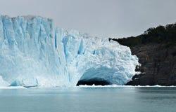 Eisberg Perito Moreno vom Gletscher Argentinien Lizenzfreie Stockfotos