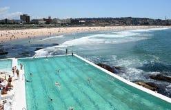 Eisberg-Pool Australien-Bondi   Lizenzfreie Stockbilder