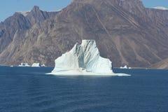 Eisberg vor Grönland Stockbild
